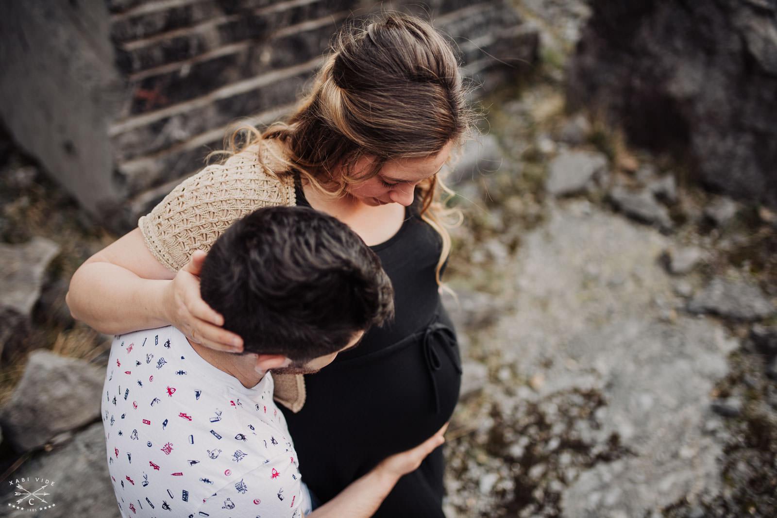 fotografía de embarazo en bilbao-7